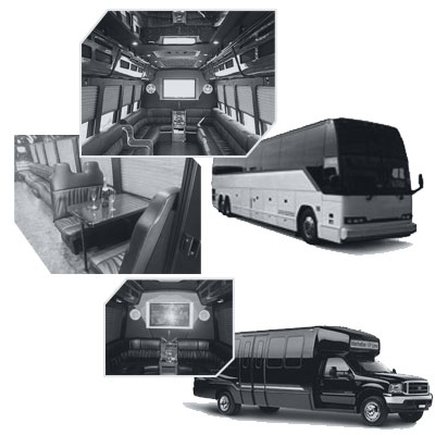 Party Bus rental and Limobus rental in New York, NY