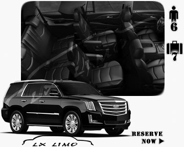 SUV Escalade for hire in New York, NY