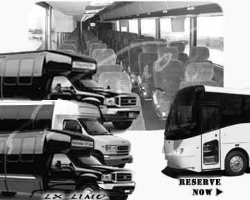 New York Bus rental 36 passenger