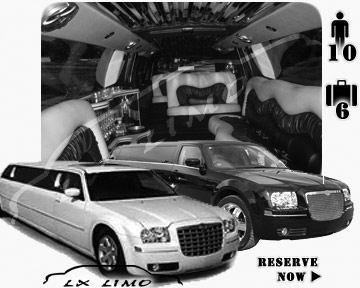 Chrysler 300 Limo in New York for wedding